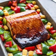 Sweet and Sour Baked Salmon
