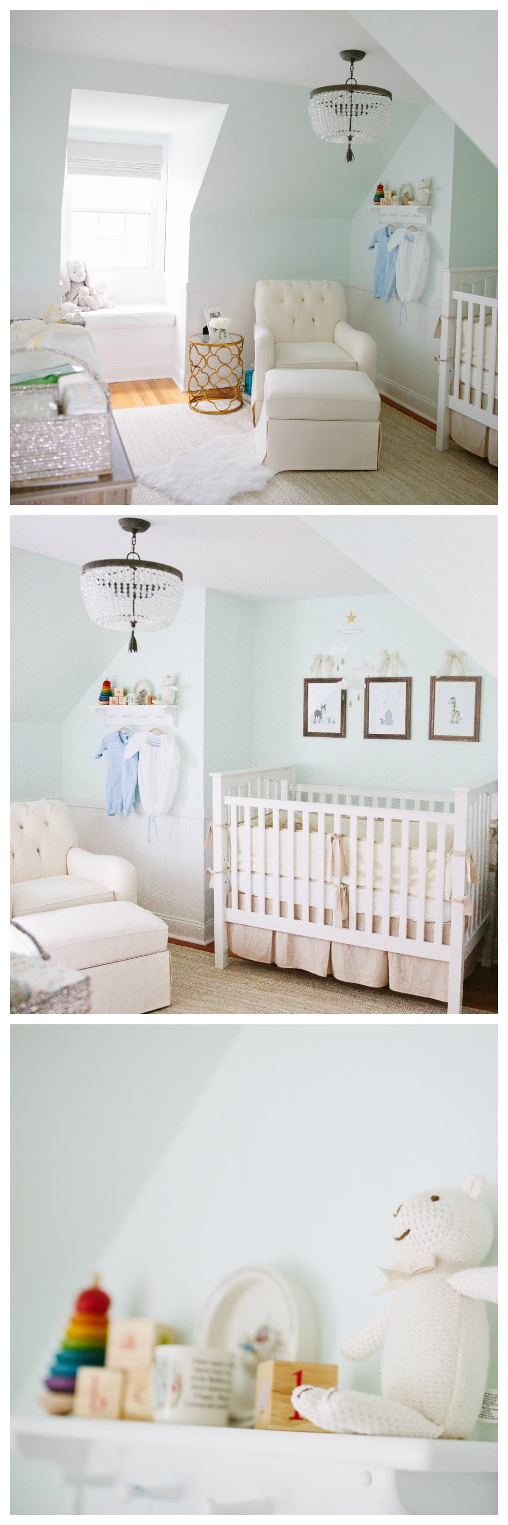 Elegant Gender Neutral Nursery