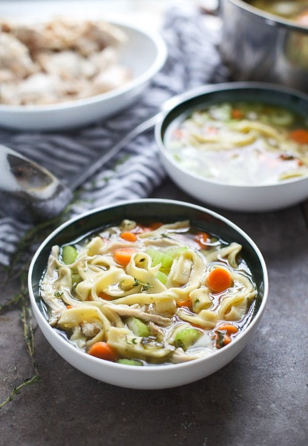 The Best Chicken Noodle Soup from Scratch
