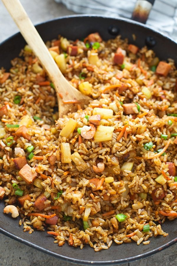 Copycat Kona Grill Fried Rice (AKA The BEST fried rice)