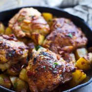Braised Dijon Chicken and Potatoes