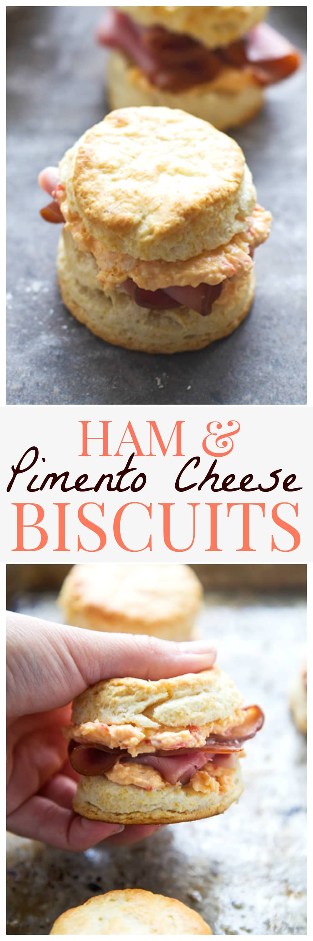 Ham and Pimento Cheese Biscuit Sliders