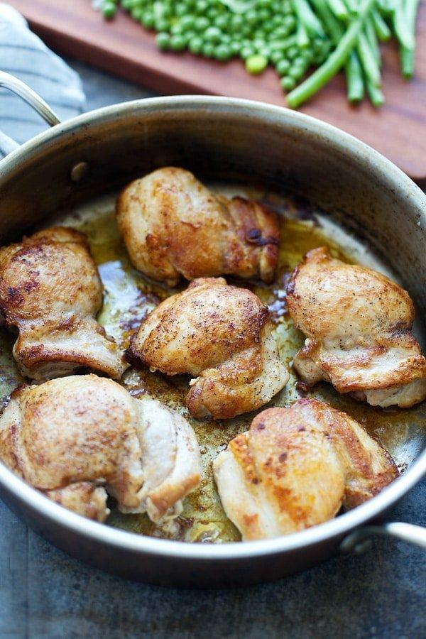 Spring Coq Au Vin (Spring Chicken)
