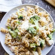 Lemony Roasted Chicken & Broccoli Rotini