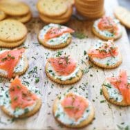 Easy Snacks with RITZ Crackers