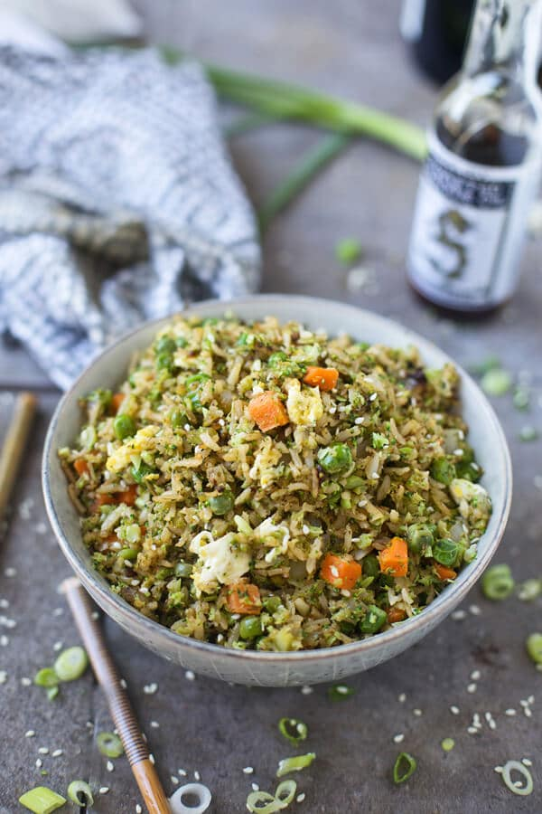 Broccoli and Brown Fried Rice