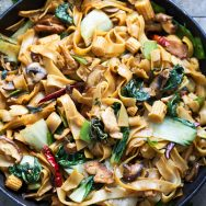 Easy Drunken Noodles (Pad Kee Mao)