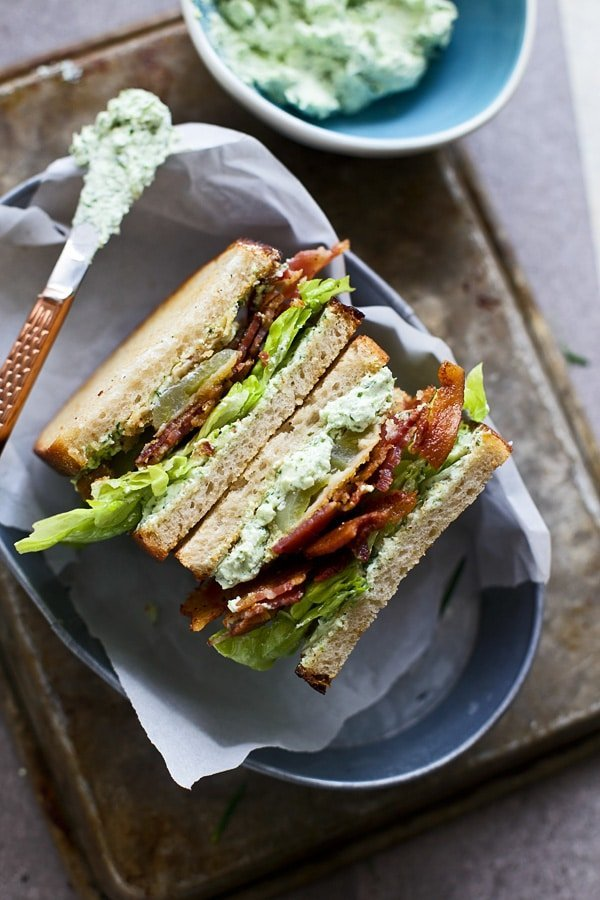 Fried Green Tomato & Goat Cheese BLT