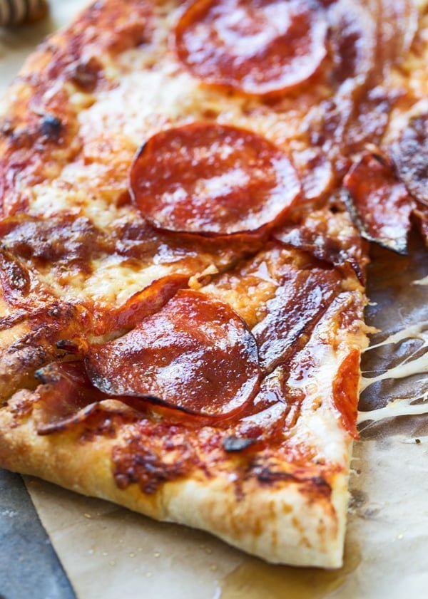 Best Pepperoni Amp Bacon Pizza With Truffle Honey Cooking