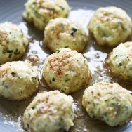 Spinach & Ricotta Gnudi with Brown Butter