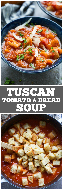 Tuscan Tomato Bread Soup (Pappa al Pomodoro)