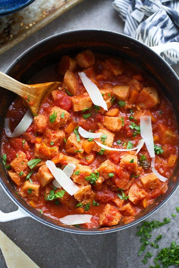 Tuscan Tomato Bread Soup