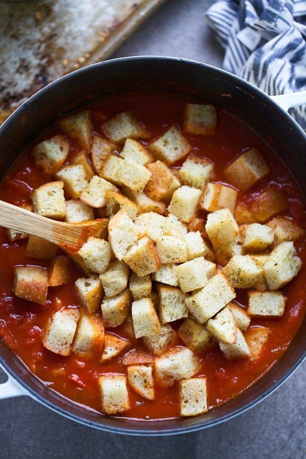 Pappa al Pomodoro Soup (Tuscan Tomato Bread Soup)
