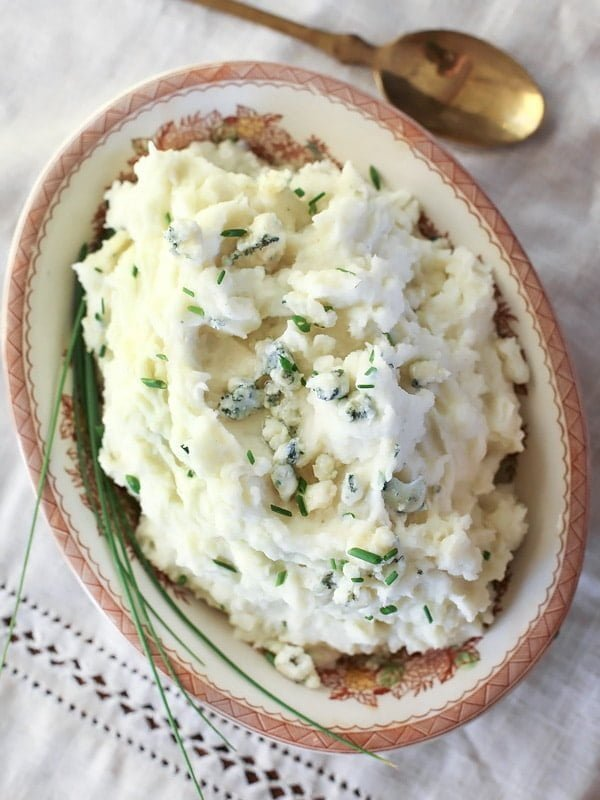 Blue Cheese Buttermilk Mashed Potatoes