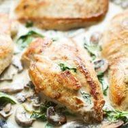 Creamy Lemon & Mushroom Chicken