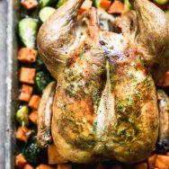 Crispy Roast Chicken with Brown Butter and Sage