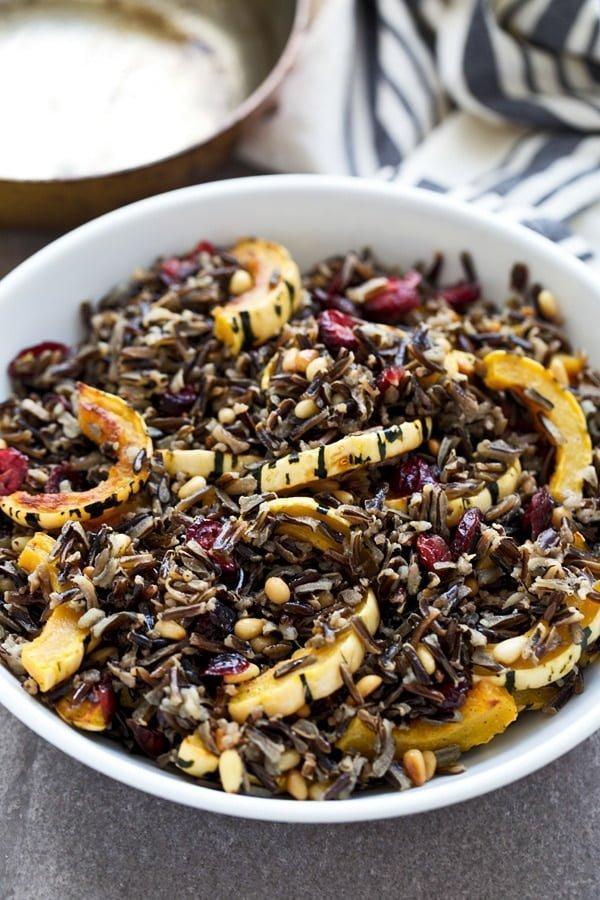Wild Rice & Delicata Squash