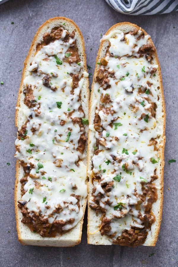 Beef Stroganoff French Bread Toasts