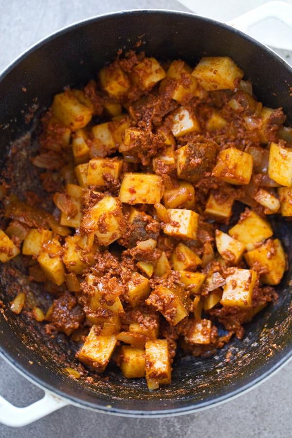 Easy Chorizo & Potato Soup