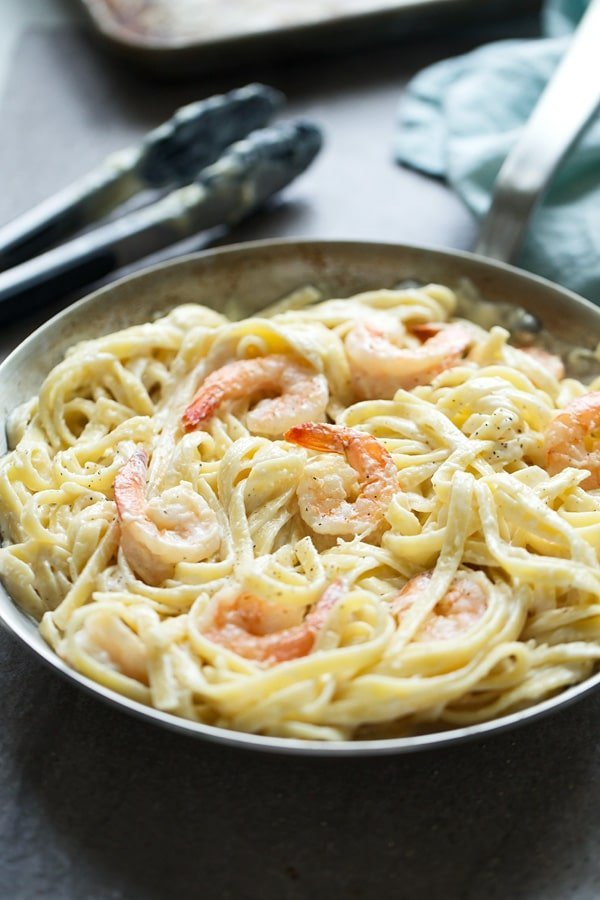 5-Ingredient Shrimp Alfredo