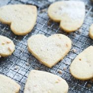 Almond Toffee Shortbread Cookies