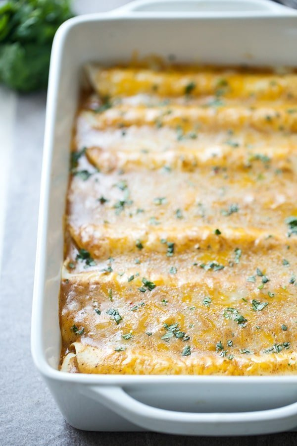 Mexican Breakfast Enchiladas