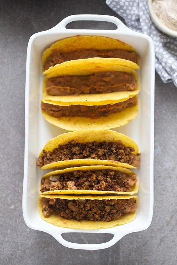 Supreme Turkey Tacos