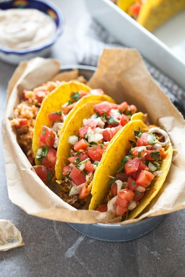 Baked Supreme Turkey Tacos