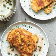 Crispy Chicken Piccata
