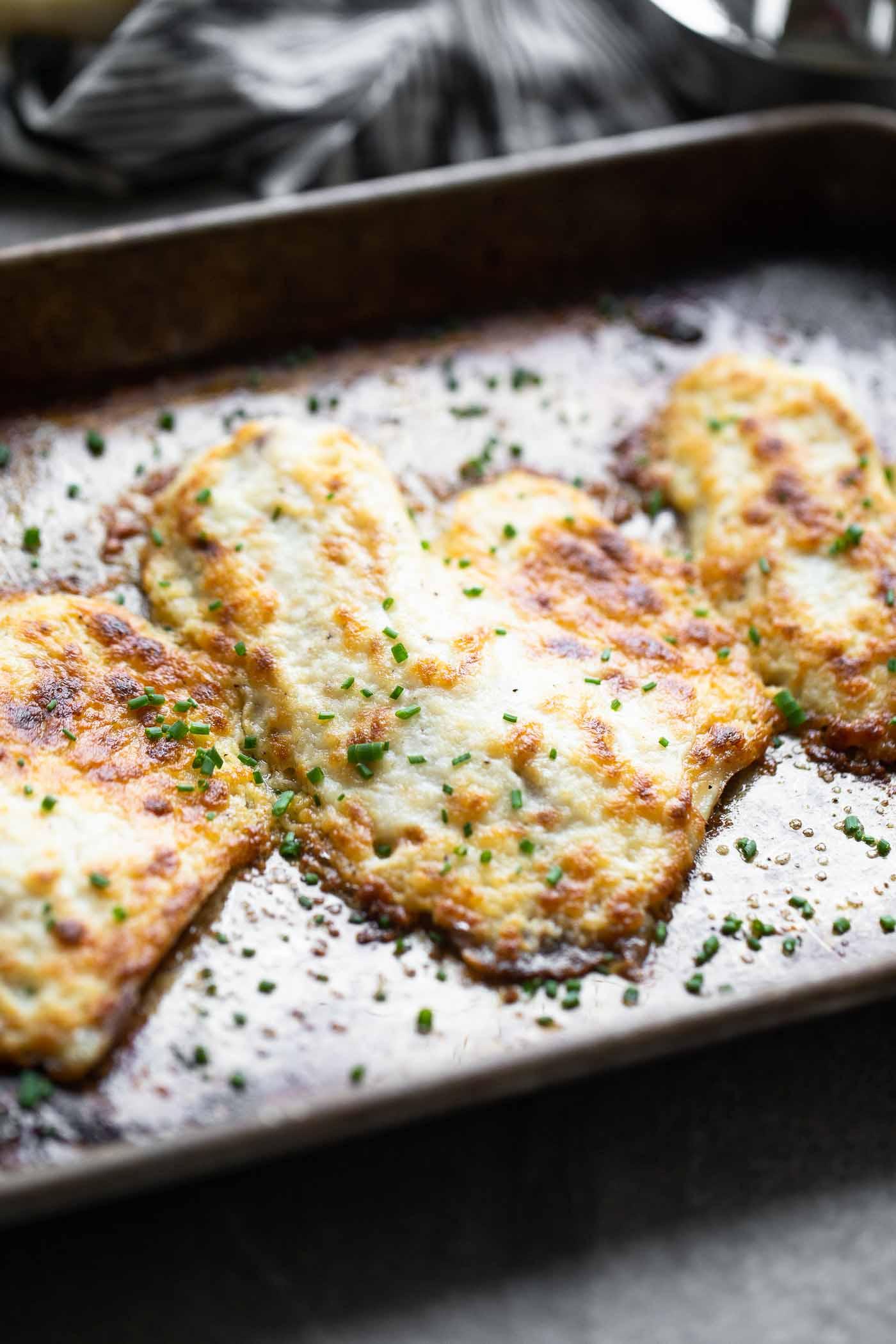 Easy Parmesan Broiled Tilapia