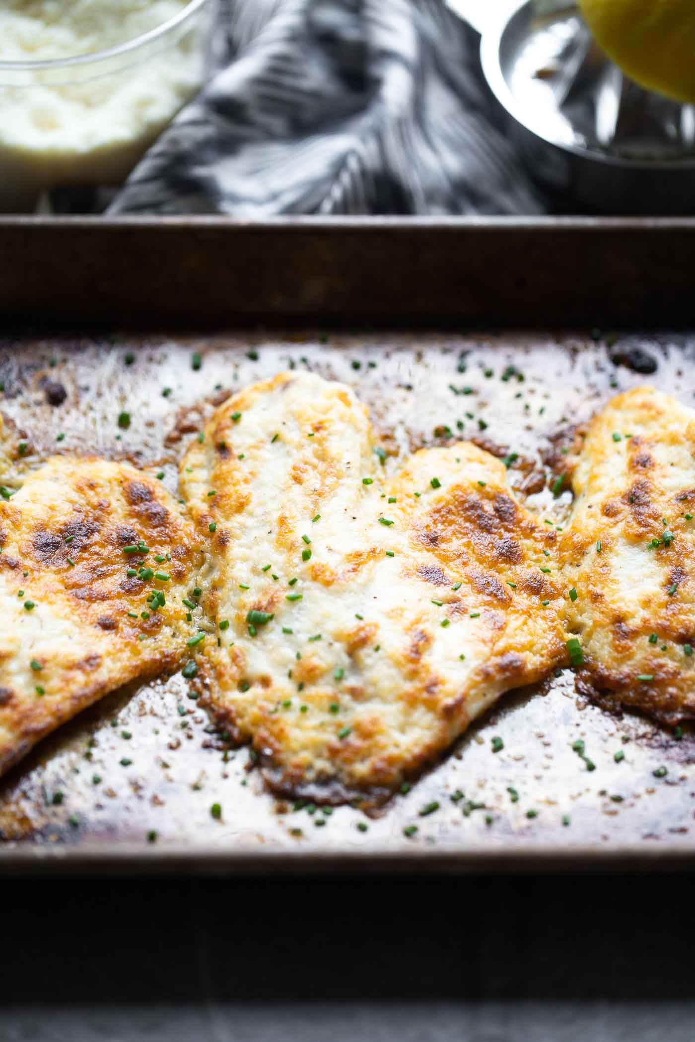 Easy Parmesan Broiled Tilapia