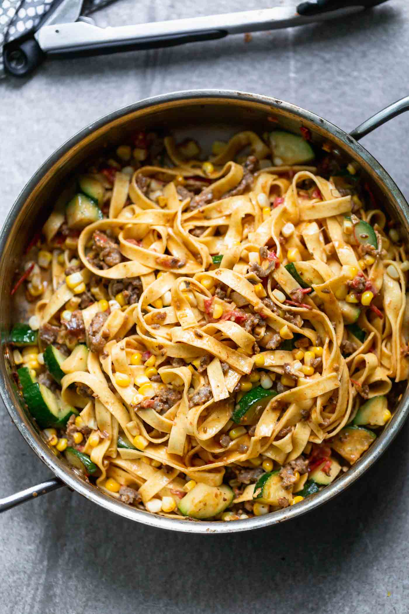 Summer Pasta with Brown Butter Tomato Sauce