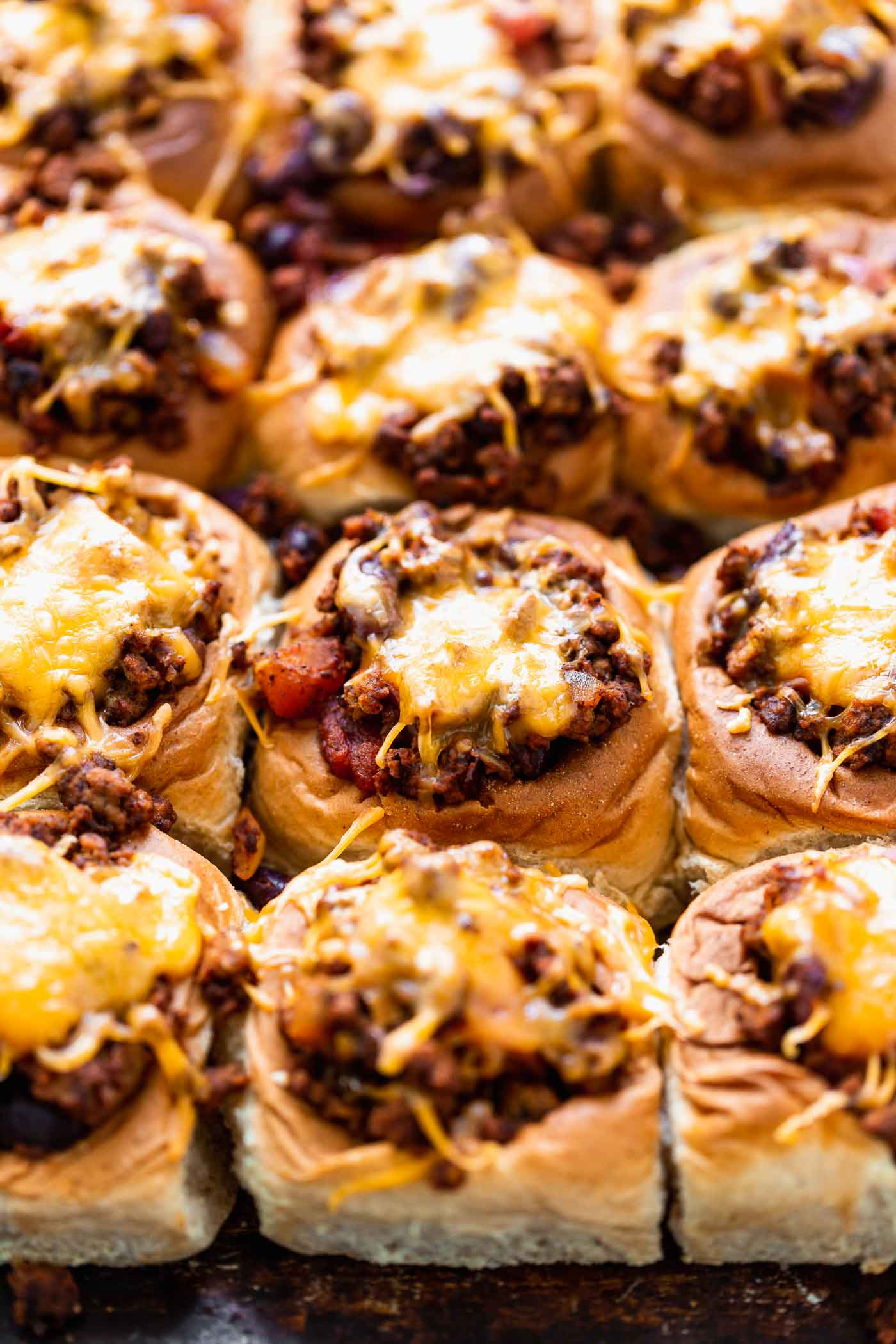 Mini Chili Cheese Dogs