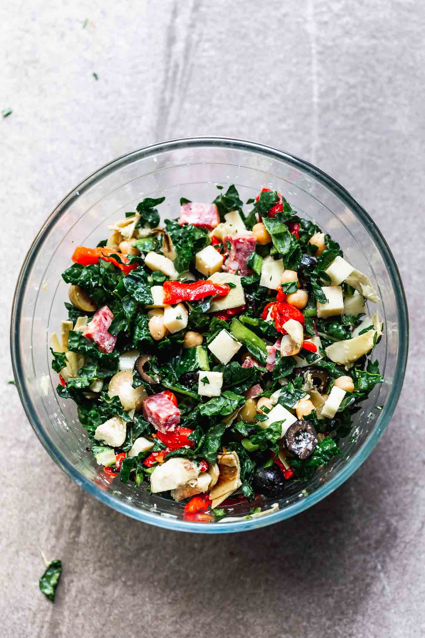 Antipasto Kale Salad