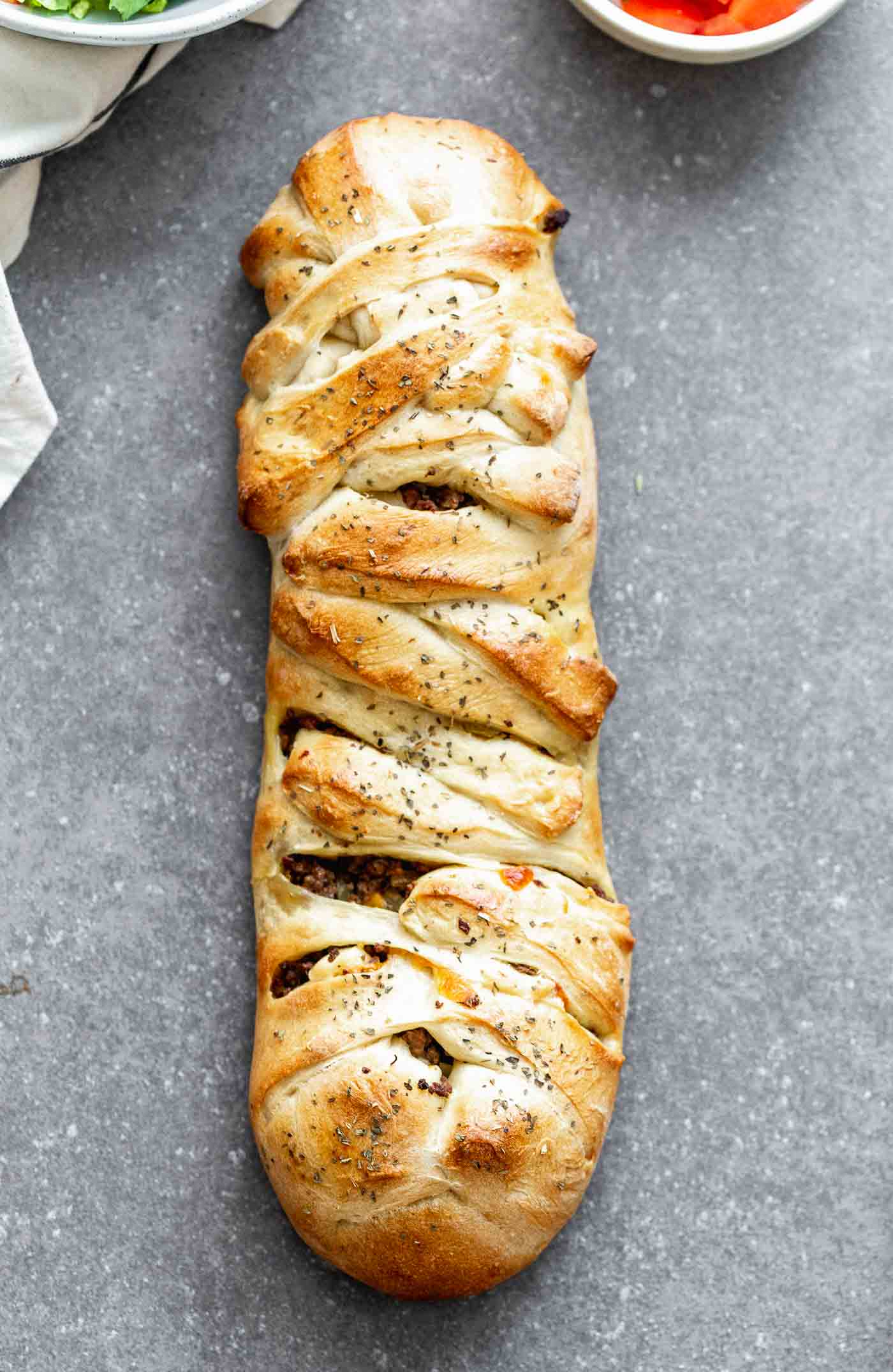 How to braid bread