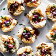 Cheesy Barbecue Chicken Bites