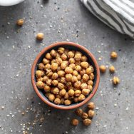 Crispy Everything Bagel Chickpeas