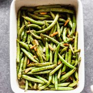 Brown Butter Green Bean Almondine