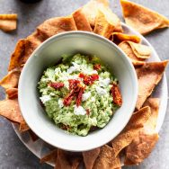 Goat Cheese Avocado Dip