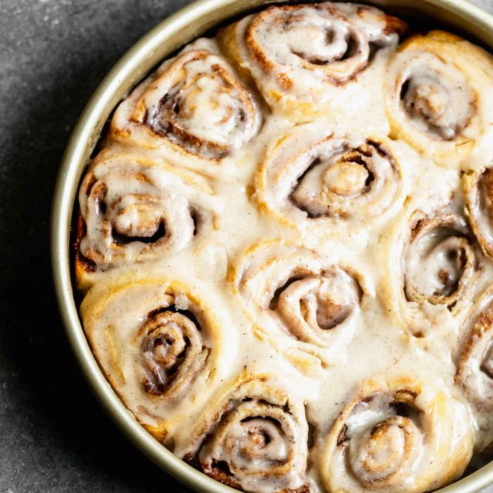 5-Ingredient Brown Butter Cinnamon Rolls