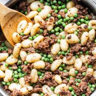 5-Ingredient Gnocchi with Peas and Sausage