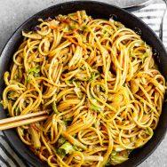 5-Ingredient Peanut Noodles