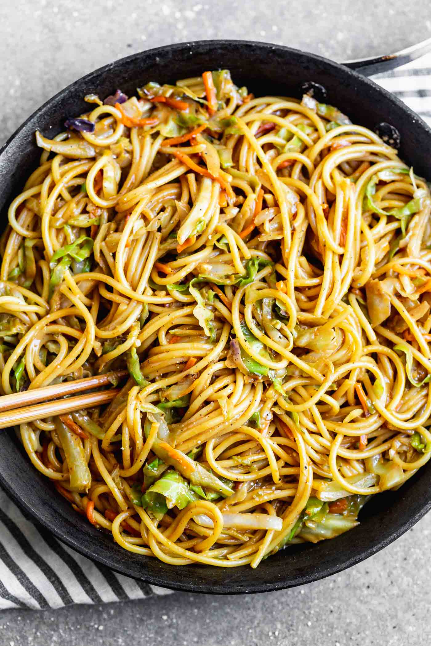 5-Ingredient Peanut Noodles