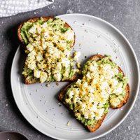Best Avocado Egg Salad Toast