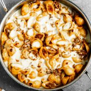 Easy Greek Skillet Pastitsio