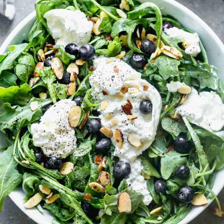Blueberry Burrata Salad