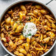 One Pot Turkey Mexican Pasta