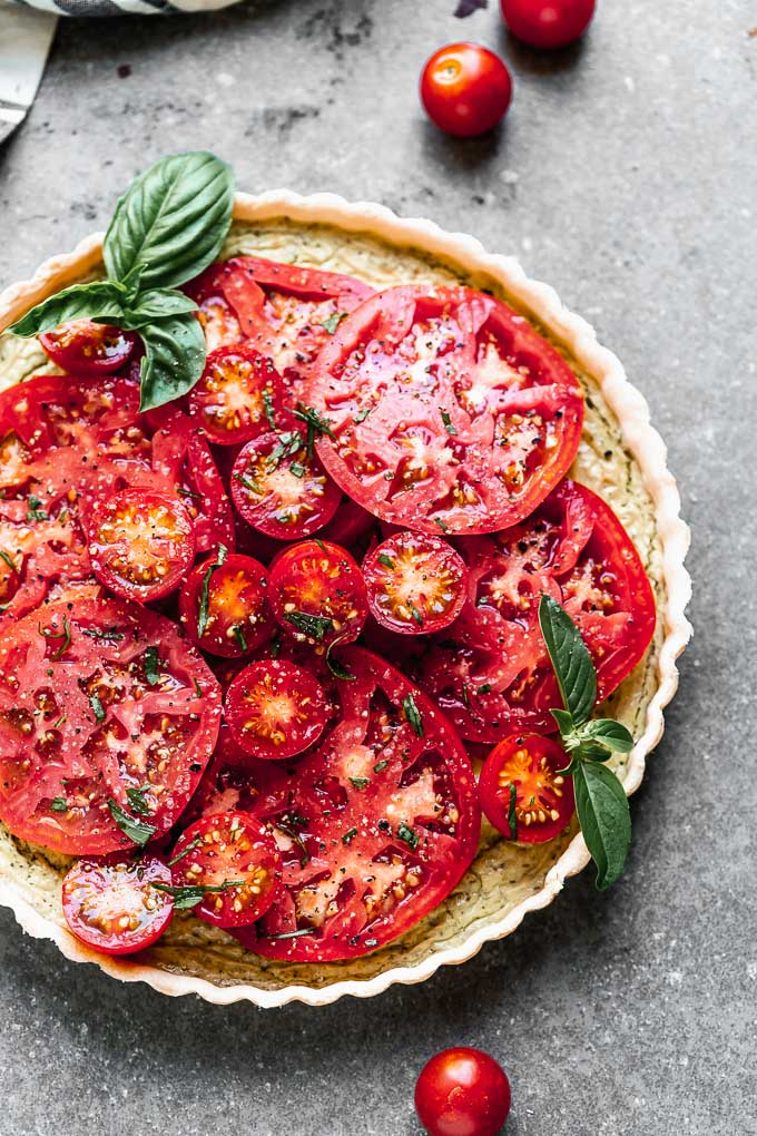 Tomato Tart Recipe Five Ingredients Cooking For Keeps