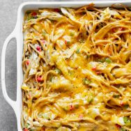 Healthy Chicken Spaghetti
