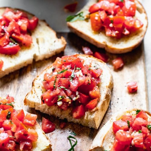 Tomato Basil Bruschetta Cooking For Keeps